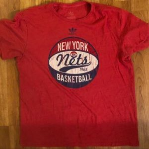 Men's Adidas NY Nets T-shirt